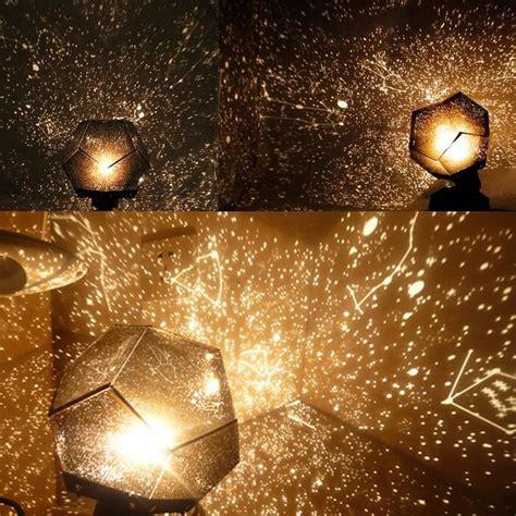 lampe projecteur veilleuse romantique etoiles planetarium