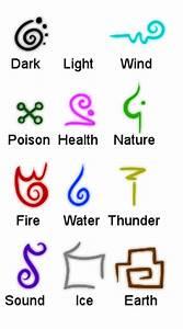 Elemental Symbols by Taldigi on DeviantArt