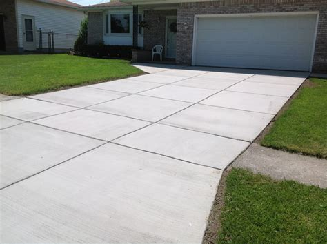 broom finished driveways gallery real  custom concrete company buffalo  york