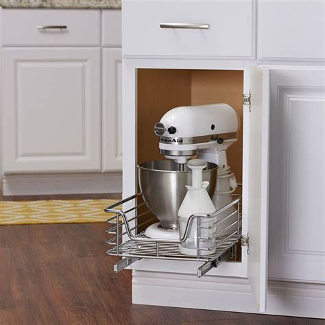 kitchen cabinet sliding organizers 12 inch wide sliding cabinet organizer in pull out baskets 5779