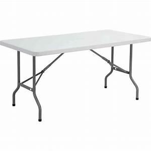 Table Pliante Metal : table pliante ycz 152 en plastique gris clair achat ~ Teatrodelosmanantiales.com Idées de Décoration