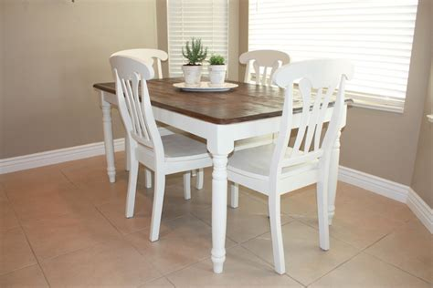 country home kitchen table refinished