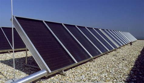 Solaranlagen Auf Dem Dach Gefahren Und Probleme by Solarthermie Flachdach Optimaler Neigungswinkel Mit
