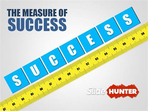 measuring success powerpoint template