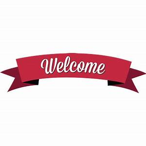 Welcome transparent PNG images - StickPNG