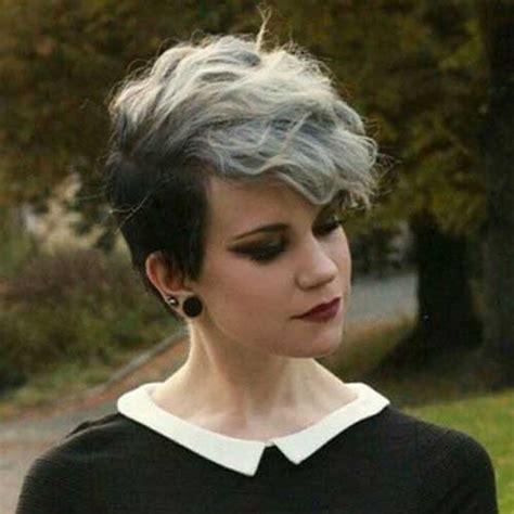 Pixie Hairstyles For Grey Hair by 20 Pixie Haircut For Gray Hair Pixie Cut 2015