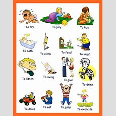 My 4th Junior High English Class Common Verbs
