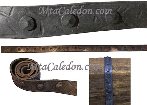 Decorative Sheet Metal Banding by S 01 Faux Wood Iron Mta Caledon