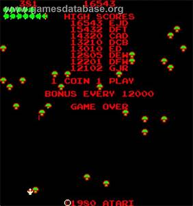 Caterpillar Arcade Games Database