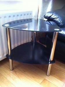 black and chrome coffee table for sale in rathcoole With black and chrome coffee table