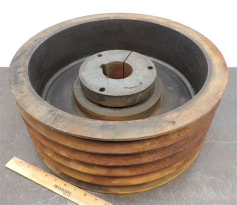 Electric Motor Pulleys by Belt Pulley Timing Pulley 18 11 16 Quot Od Fits Electric Motor