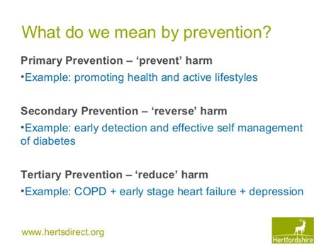 systemic and system wide on prevention towards a