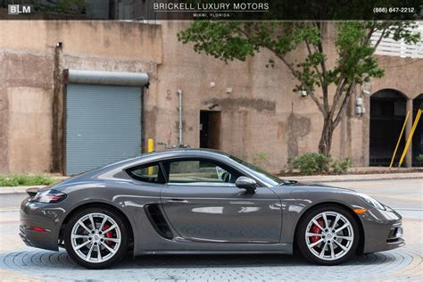 About porsche 718 cars on motors.co.uk. Used 2018 Porsche 718 Cayman S For Sale ($64,500) | Brickell Luxury Motors Stock #L2759