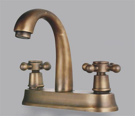 antique brass bathroom faucet two handles antique brass centerset bathroom sink faucet