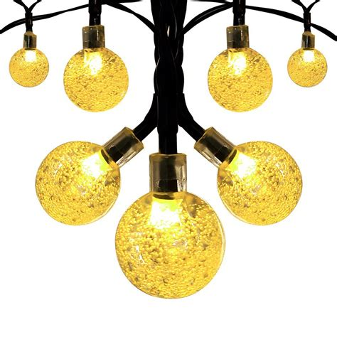 string globe lights solar globe outdoor string lights 8 95 from 30