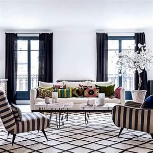 les plus beaux salons marocains en images marie claire With tapis exterieur avec les plus beaux canapés en cuir