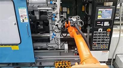 Machine Tending Robot Solution Robotic Th Simulation