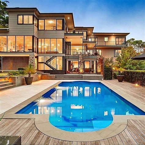 inspiring house plans with pools in the middle photo modern mansion with pool via luxclubboutique is