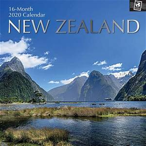Large Wall Calendar 2020 New Zealand Calendar 2020 Calendar Club Uk