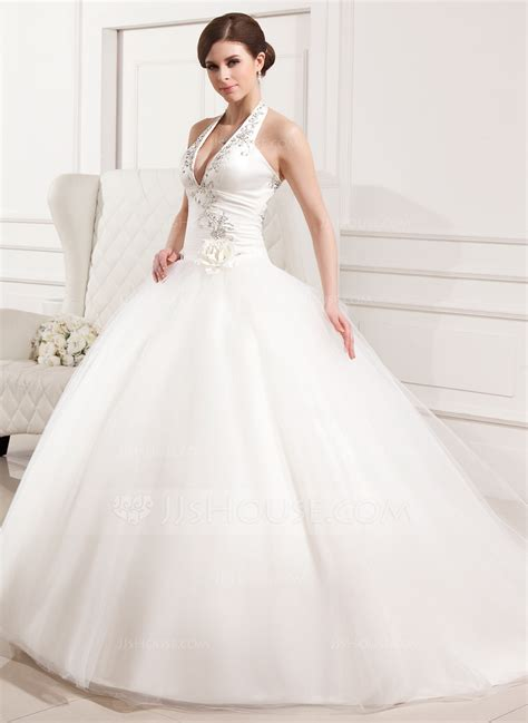 Ballgown Halter Chapel Train Tulle Wedding Dress With. Cheap Fit And Flare Lace Wedding Dresses. Strapless Wedding Dress For Large Breasts. Summer Beach Wedding Dresses For Guests. Best Modern Wedding Dresses. Tulle Wedding Dress Sewing Pattern. Short Wedding Dresses Made In China. Red Wedding Dress Movie. Pictures Of Wedding Bridesmaid Dresses