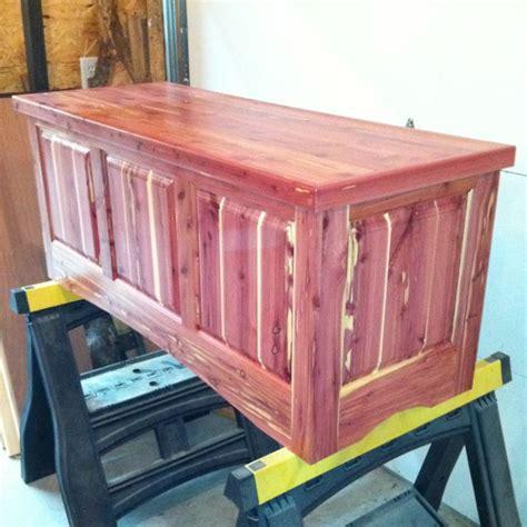 red cedar blanket chest cedar wood projects cedar