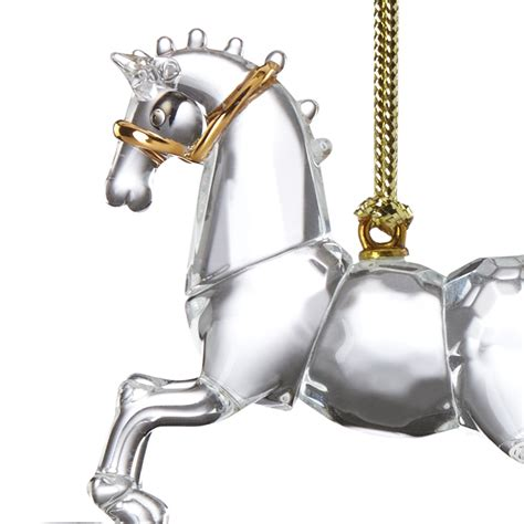 baby s first christmas ornament 2016 rocking horse
