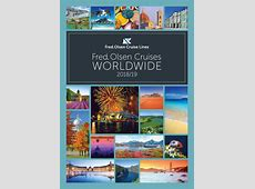 Fred Olsen Cruise Lines Worldwide 20182019 brochure by