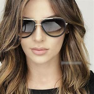 Lunette De Soleil Femme Solde : nouvelles lunettes de soleil aviateur femmes miroir conduite hommes marque de luxe lunettes de ~ Farleysfitness.com Idées de Décoration