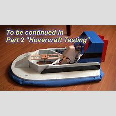 Rc Hovercraft Part 1 (building An Rc Hovercraft) Youtube