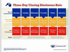 Trid Disclosure Calendar Calendar Template 2019