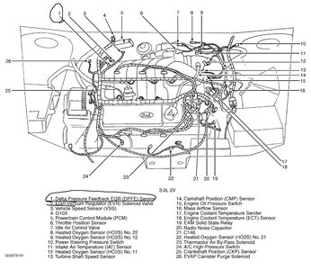 Solved Where The Egr Located Mercury Sable