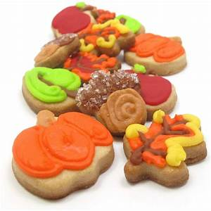 mini fall decorated cookies - the decorated cookie