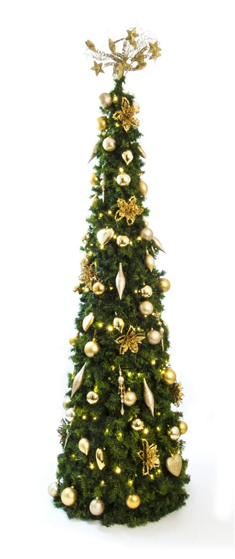 blue and silver cone christmas tree cone artificial tree gold and blue green team interiors