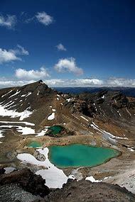 Emerald Lakes Tongariro New Zealand