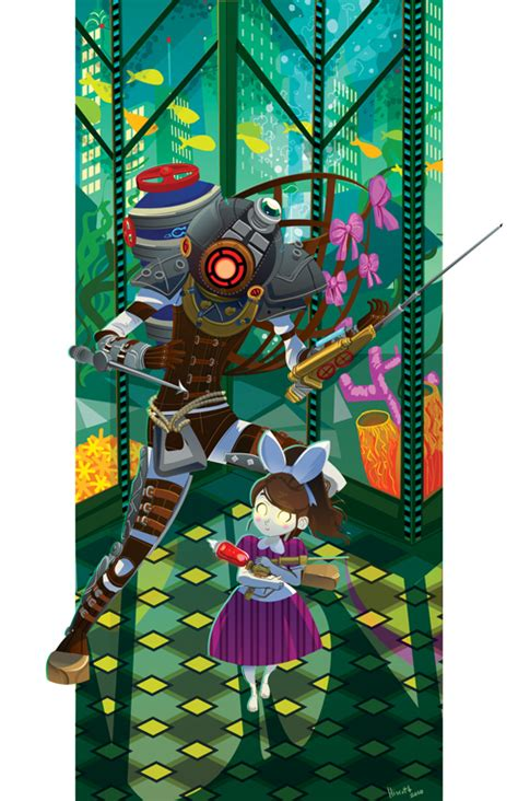 Fanart Bioshock 2 By Crumbelievable On Deviantart