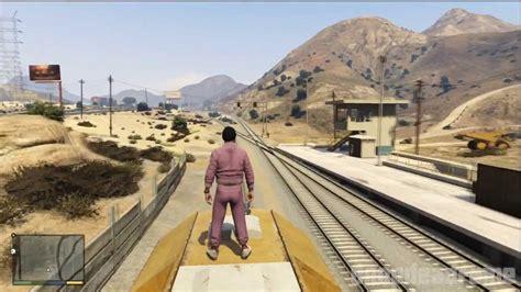 Train Tour Around San Andreas