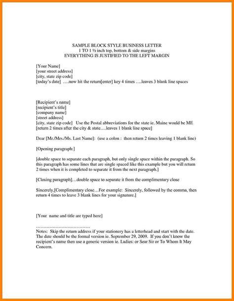business letter format  letterhead template