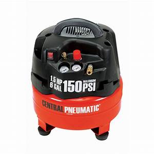 6 Gal  1 5 Hp 150 Psi Professional Air Compressor