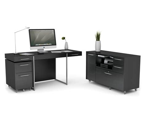 black home office desk black painted home office computer desk design with wheels