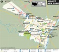 Albany Map, Albany New York Map, Capital of New York