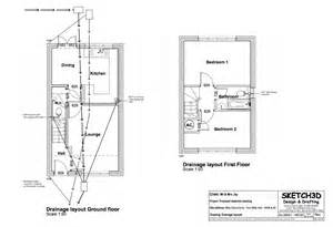 building a house floor plans exle building plans developer 2 bedroom house