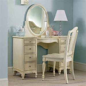 Makeup vanity chair diva dresser and mirror bathroom with for Makeup chair for bathroom