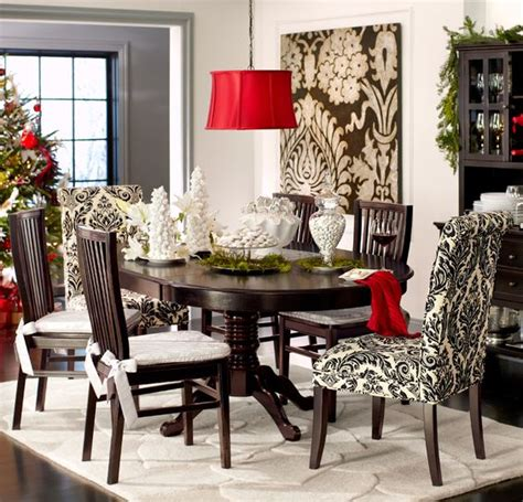 Pier One Dining Room Furniture by Pier 1 Angela Onyx Damask Dining Chairs Add Dramatic Flair