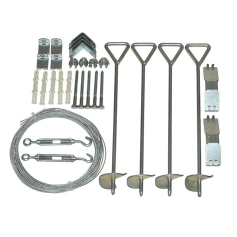 Shed Anchor Kit Home Depot by Palram Snap Grow Series 4 In X 18 In X 4 In