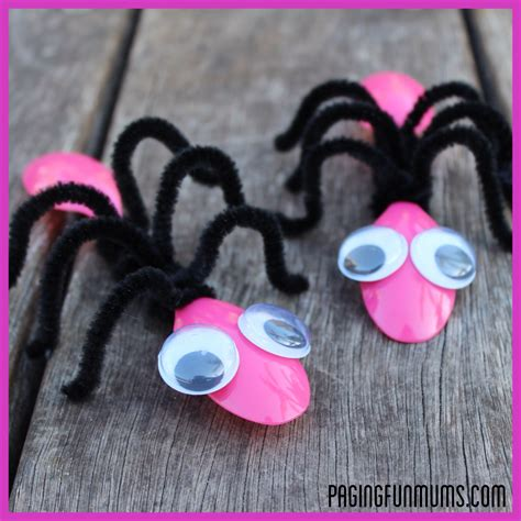 bug craft using spoons and pipe cleaners 346 | easy bug craft