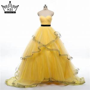 popular yellow wedding gown buy cheap yellow wedding gown With yellow wedding dress