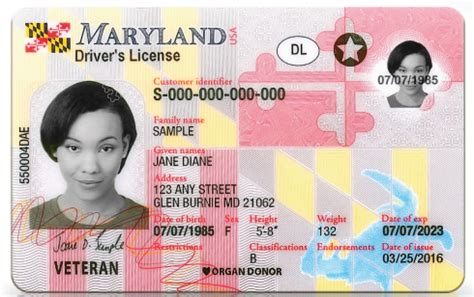 maryland unveils  drivers licenses id cards ap