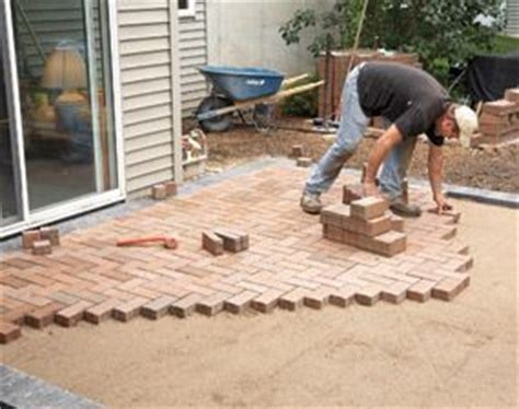 how to cover a concrete patio with pavers concrete