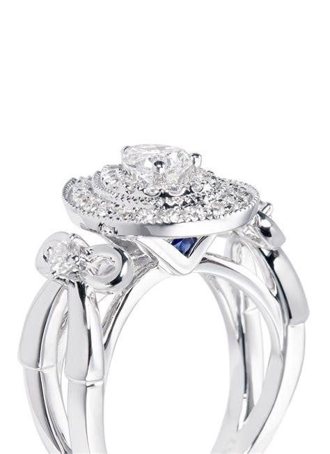 lyst vera wang love ribbons  bows diamond  white