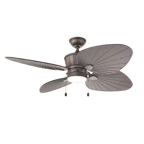 integrated led ceiling fan home decorators collection merwry 52 in integrated led